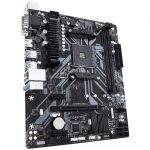 AMD B450 Ultra Durable Motherboard with GIGABYTE Gaming LAN and Bandwidth Management, PCIe Gen3 x4 M.2, 7-colors RGB LED Strips Support, Anti-Sulfur Resistor Design