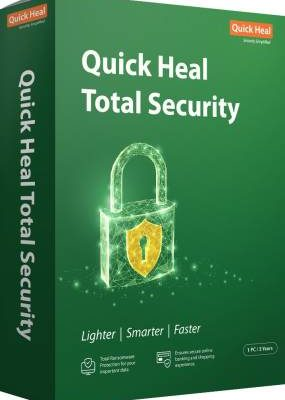 Quick Heal Total Security 1 User 3 Years
